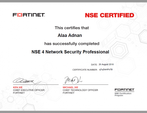 Zero One become a Silver Partner with Fortinet