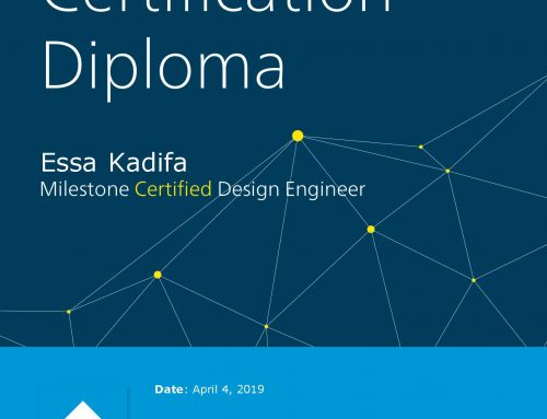 Milestone Certified Design Engineer (MCDE)