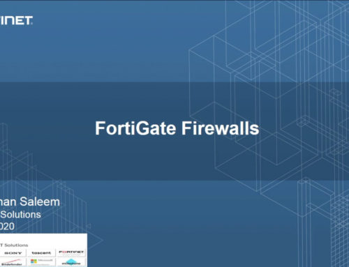 Fortigate Firewalls Introduction